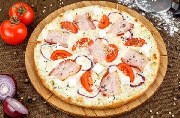 Приготовить пиццу Карбонара