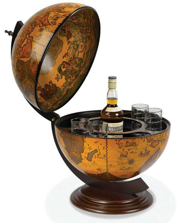 Хочу глобус-бар!!! =))