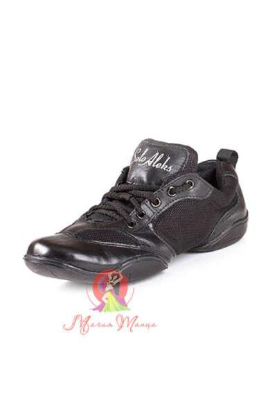 Кроссовки для танцев (Сникера) кожаные Solo Aleks