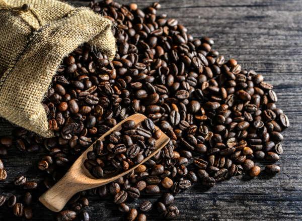 Греческий кофе в зернах