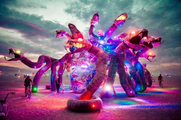 Попасть на Burning Man????????