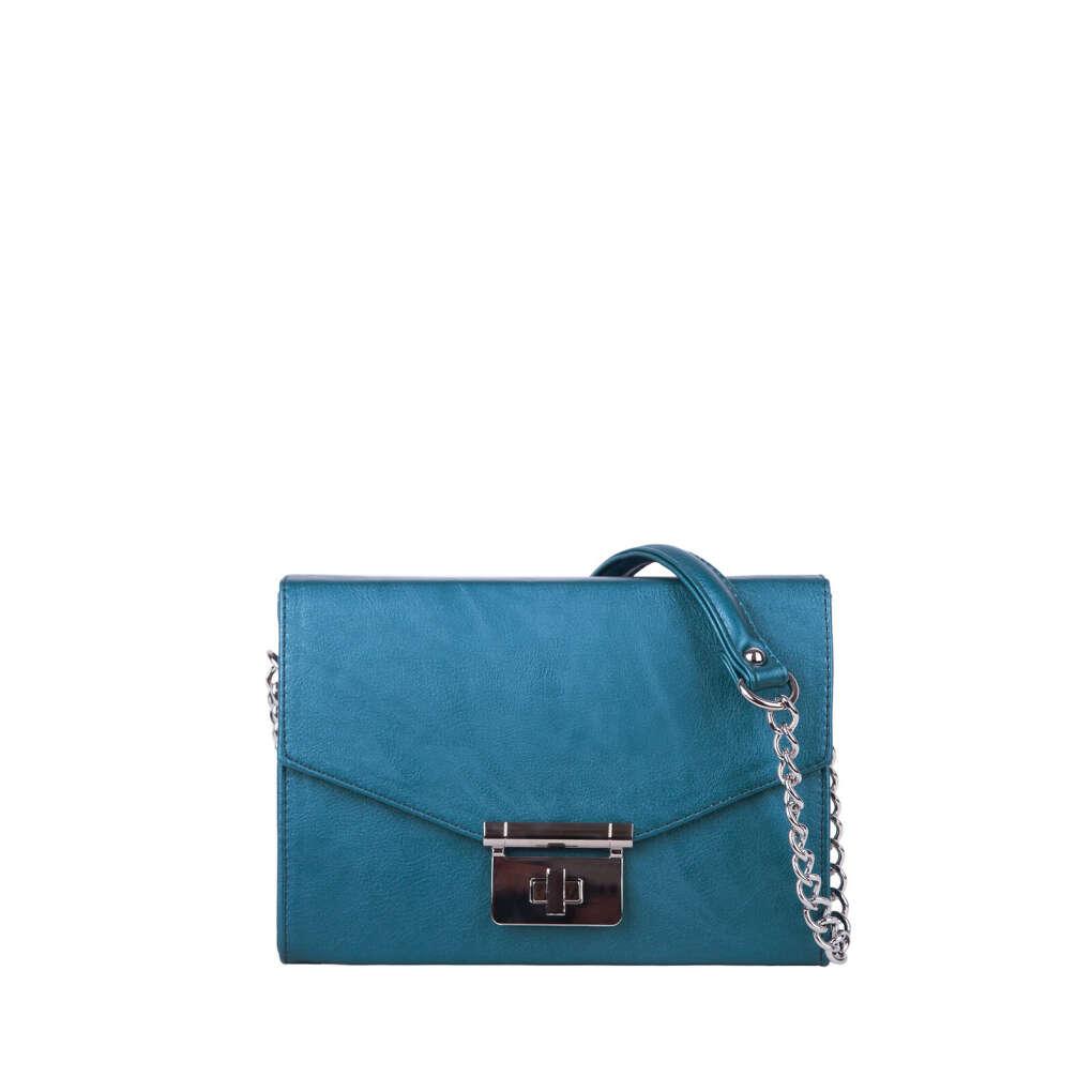 Женская сумочка цвета морской волны Kette ARNY PRAHT