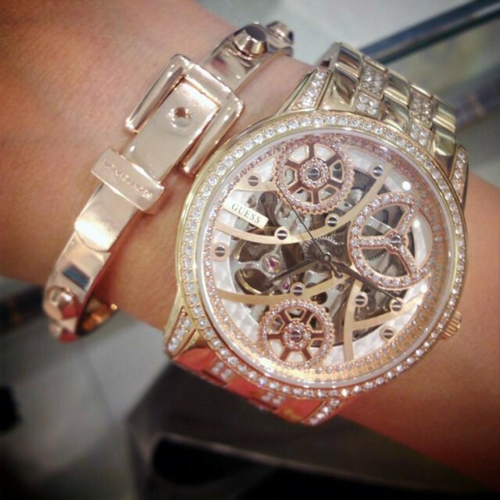 Elegant Automatic Watch by Guess