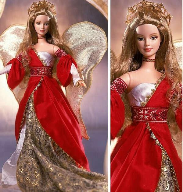 Holiday Angel Barbie Doll #2 2001