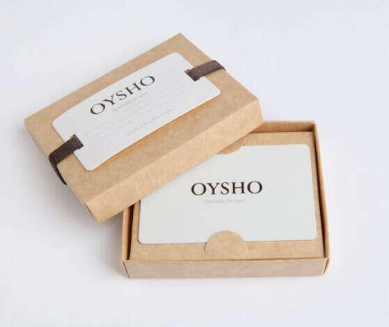 Oysho подарочный сертификат