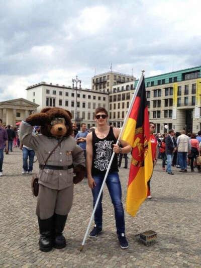отправиться  в Германию