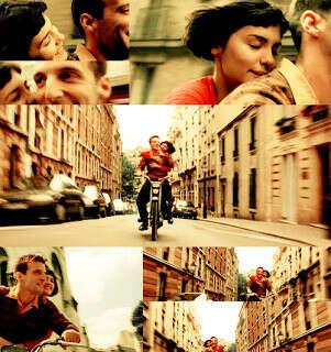Ехать на мотороллере где-нибудь, где очень романтично, и крепко обнимать тебя за талию