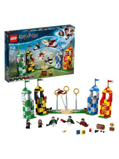 Конструктор LEGO Harry Potter 75956 Матч по квиддичу /любимый герой, большой игровой набор LEGO 6602493 в интернет-магазине Wildberries