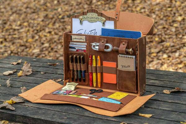 WRITER'S MEDIC BAG leather