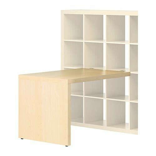 Модуль письменного стола для книжного стеллажа