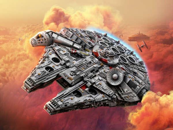 Конструктор Star Wars™ (Звездные войны) 75192 Сокол Тысячелетия LEGO® (ЛЕГО) - купить в Сети сертифицированных магазинов LEGO, Москва