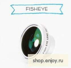 Fisheye объектив для телефона