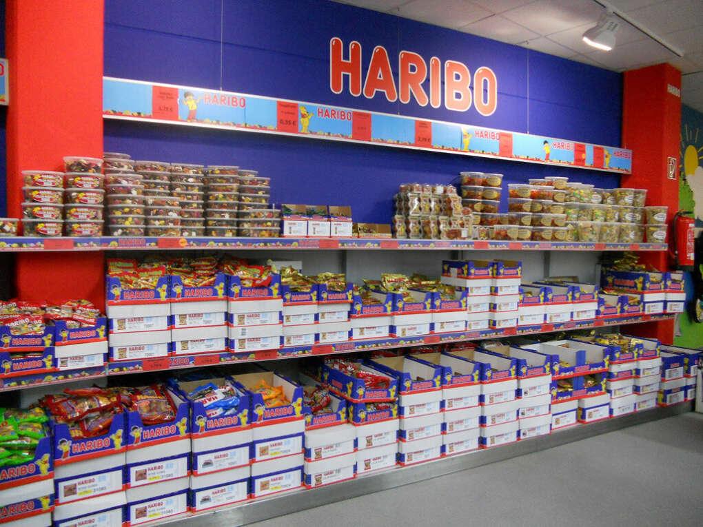 Побывать в магазине Haribo