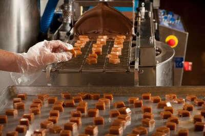Побывать на шоколадной фабрике