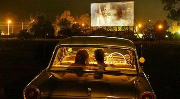 Посмотреть фильм под открытым небом