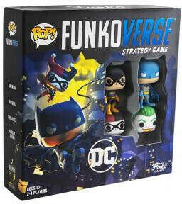 Настольная игра Funko POP Funkoverse Strategy Game: DC 100. Базовая