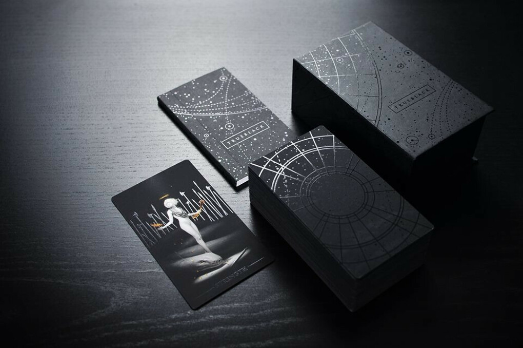 True Black Tarot