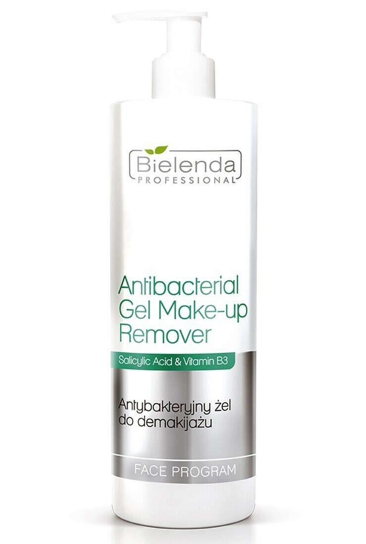 Антибактерийный гель для снятия макияжа Bielenda Professional Face Program Antibacterial Gel Make-up Remover