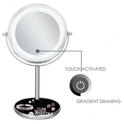 зеркало для макияжа с Led подсветкой 5X