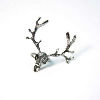 кольцо Deer Skull