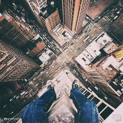 Сидеть на высотке и смотреть на город