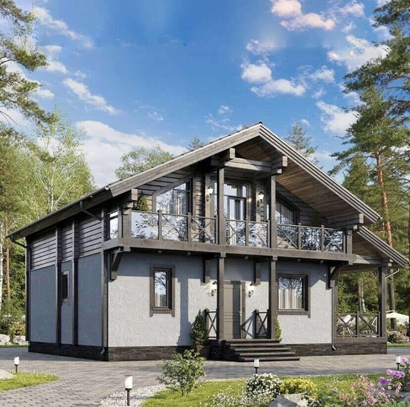 Хочу жить со своей семьей в таком доме в самом лучшем и удобном районе своего города