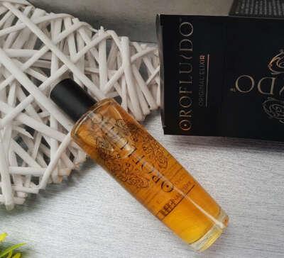 Эликсир для блеска и мягкости волос - Orofluido Beauty Elixir