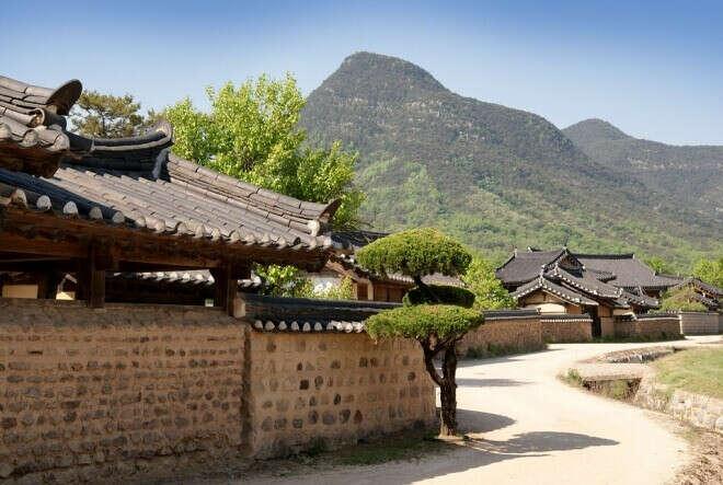 Национальная деревня Минсокчон (в 21 веке попасть в древнюю Корею)