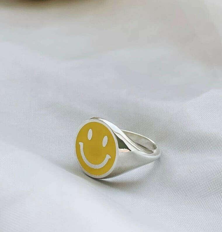 Sonrisa Yellow Smale ring