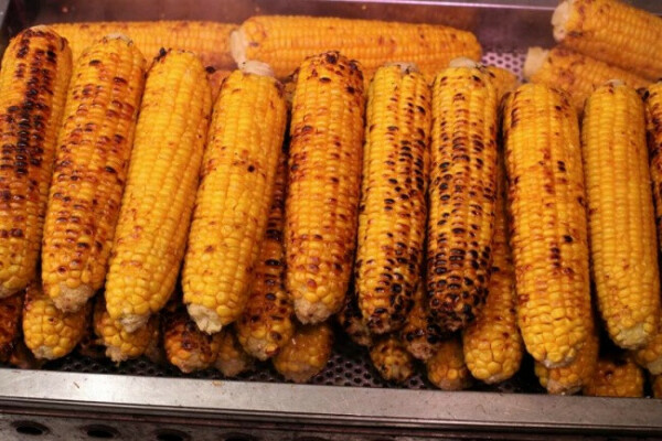хочу попробывать жареную кукурузу