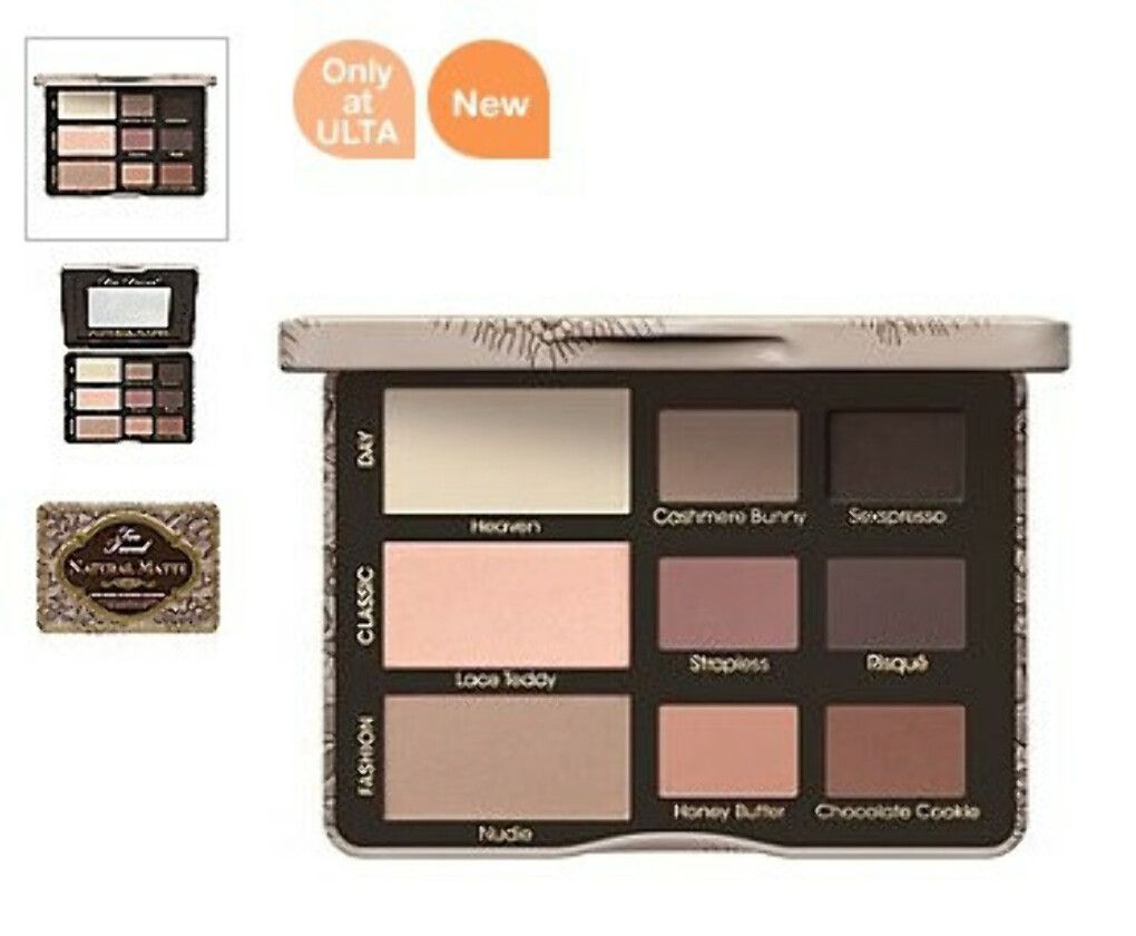 """Too Faced """"Natural Mаtte"""" Mаtte Neutral Eye Shadow Collection"""