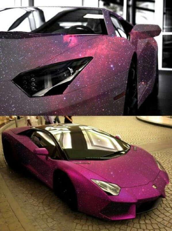 Space Lamborghini