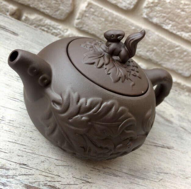 Глиняный чайник для заваривания чая