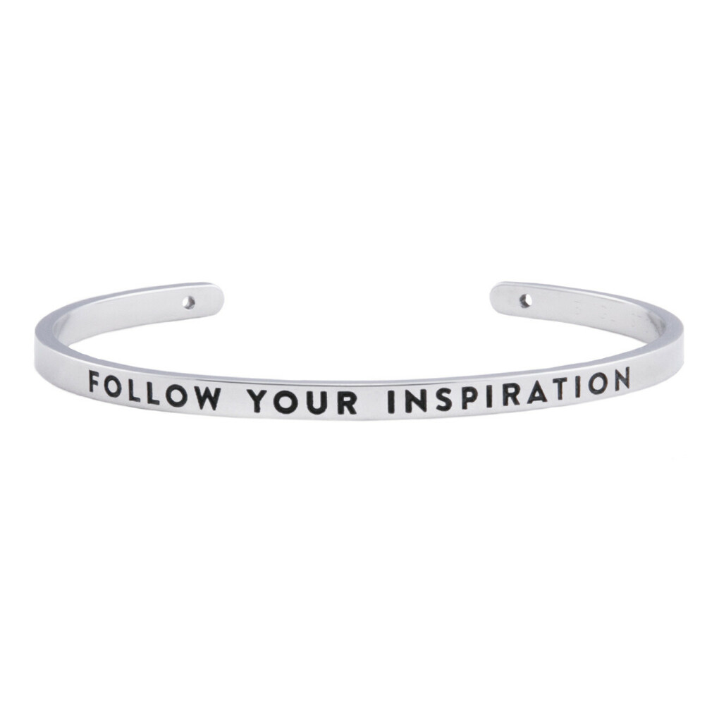 браслет FOLLOW YOUR INSPIRATION - BNGL