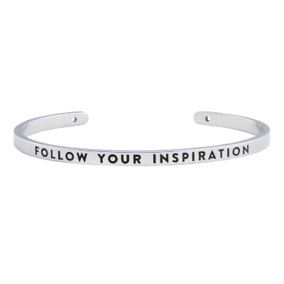 браслет FOLLOW YOUR INSPIRATION - BNGL