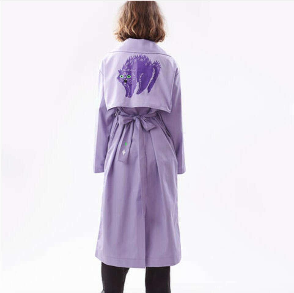 Фіолетовий тренч