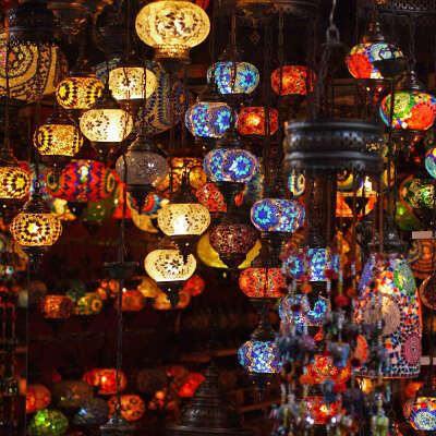 Турецкая лампа