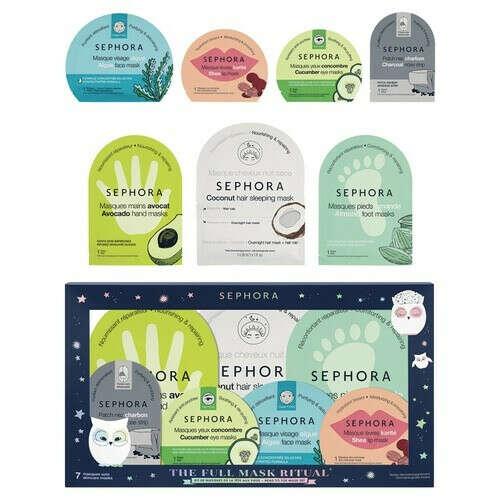 SEPHORA COLLECTION ONCE UPON A NIGHT Набор масок купить по цене от 1599 руб в интернет магазине SEPHORA | 423121SE