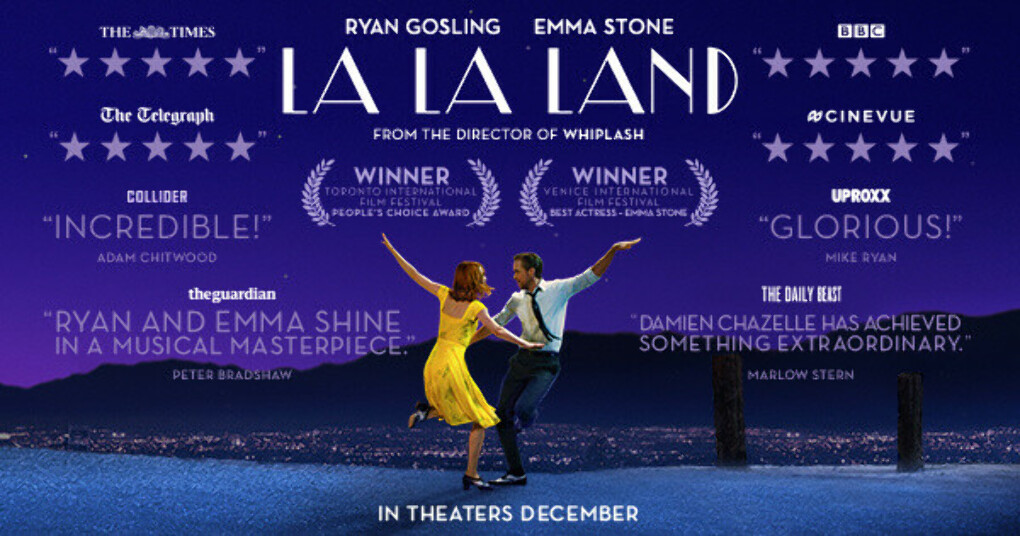 La La Land DVD and Blu-ray
