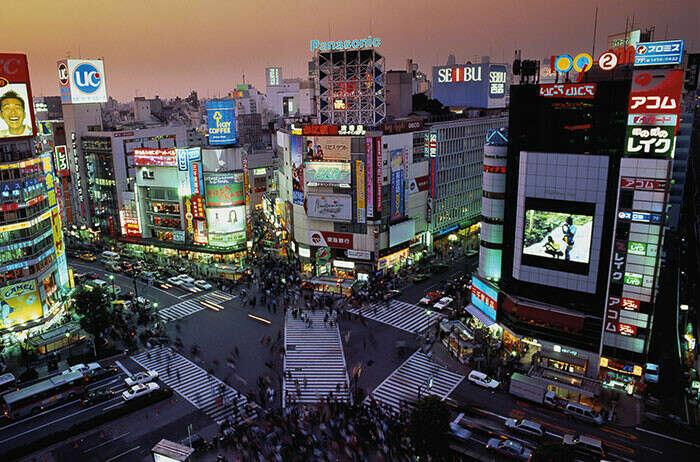 Побывать в Токио