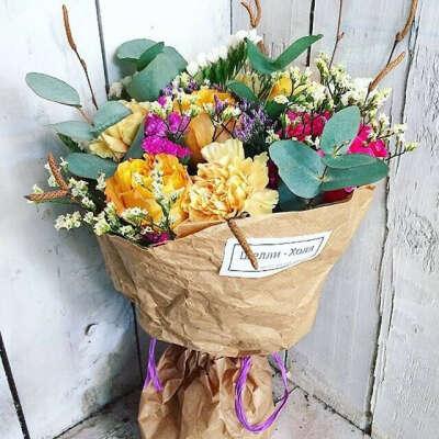 Букет красивых цветов! Красивый букет!