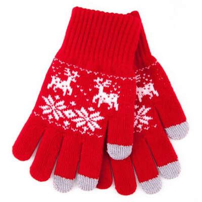 Теплые сенсорные перчатки для смартфона ;)