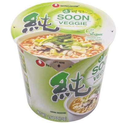 Soon Veggie Cup Noodle Soup