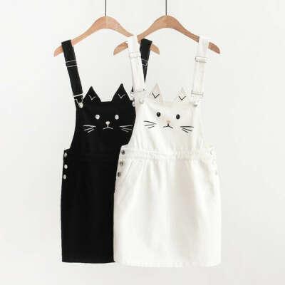 Платье с котиком
