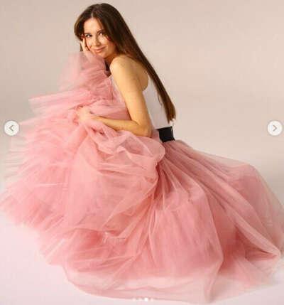 розовая юбка от ennstore