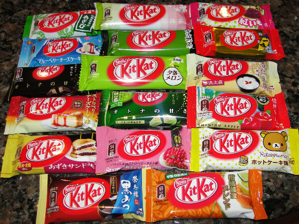 цветной KitKat