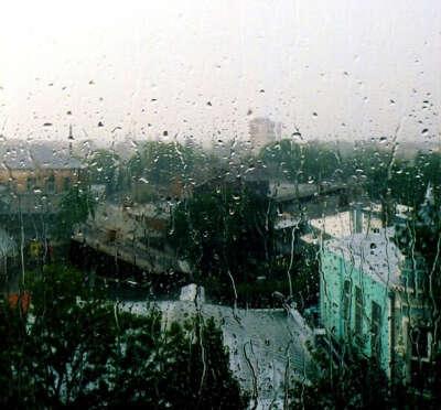 Проснуться, а за окном дождь