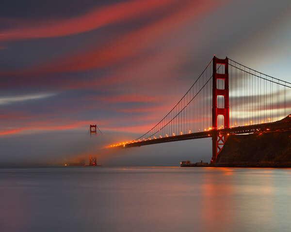 """Увидеть собственными глазами мост """"Золотые Ворота"""" в Сан-Франциско, Калифорния"""