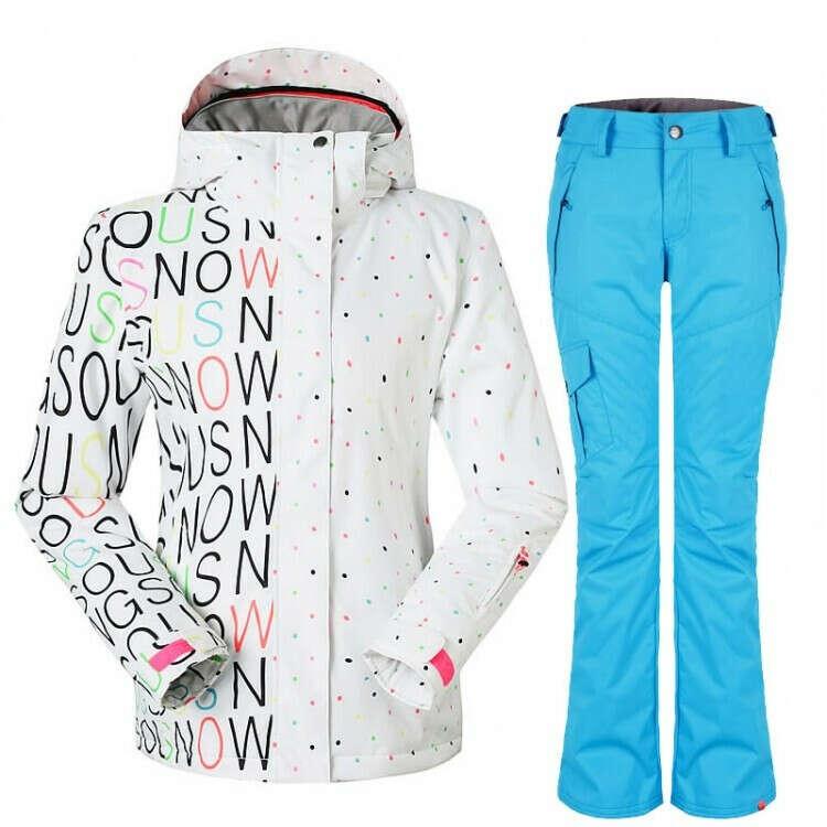 Женский зимний лыжный костюм Gsou SNOW - цена 9800 руб