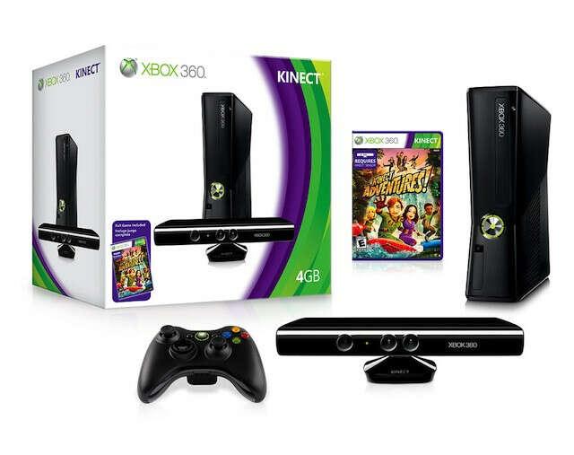 Xbox 360 + Kinect + Kinect Adventures